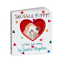 Snuggle Puppy Board Book by Sandra Boynton