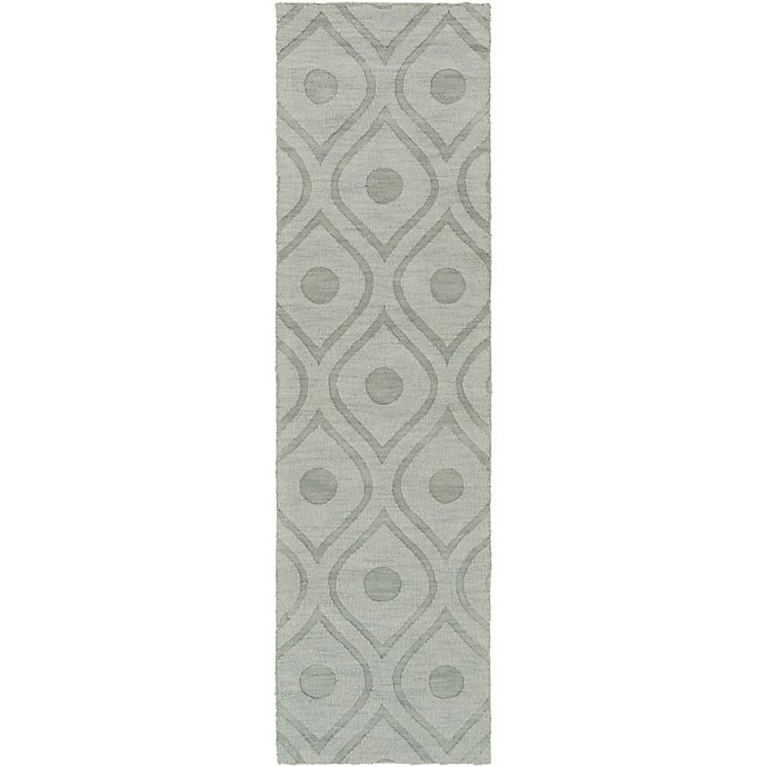 Alternate image 1 for Artistic Weavers Central Park Zara 2-Foot 3-Inch x 14-Foot Runner in Grey