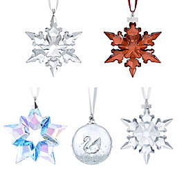 Swarovski® 4.5-Inch Crystal Winter Star Ornament in Gold