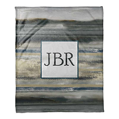 Abstract Throw Blanket