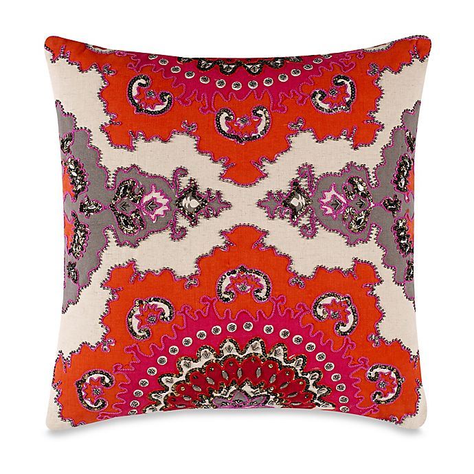 Alternate image 1 for High Jinks 20-Inch Square Throw Pillow in Red