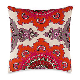 High Jinks 20-Inch Square Throw Pillow in Red