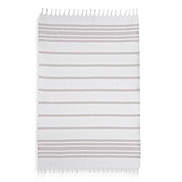 Linum Home Textiles Herringbone Fouta Pestemal Beach Towels