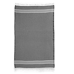 Linum Home Textiles Luxe Herringbone Fouta Pestemal Beach Towels