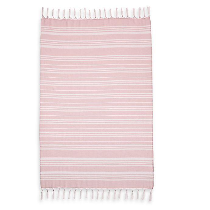 Alternate image 1 for Linum Home Textiles Ephesus Striped Pestemal Beach Towels