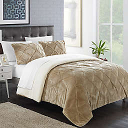 Chic Home Aurelia 2-Piece Twin XL Comforter Set in Off-White