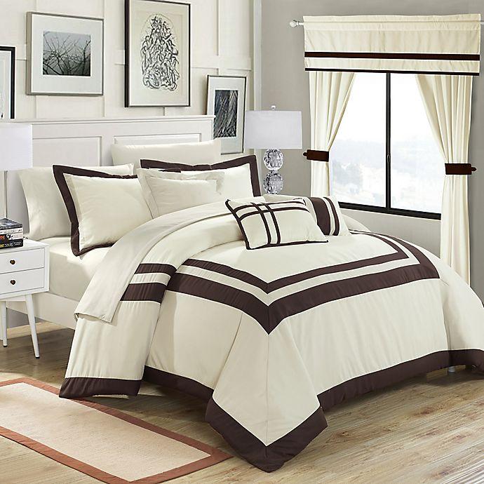Alternate image 1 for Chic Home Bertran 20-Piece Comforter Set