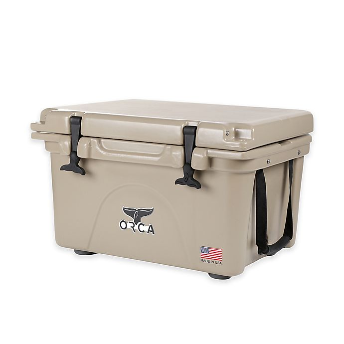 Alternate image 1 for Orca Ice Retention Cooler in Tan