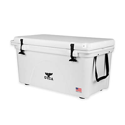 Orca Ice Retention Cooler in White