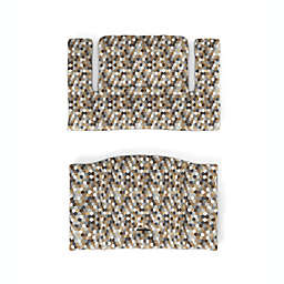 Stokke® Tripp Trapp® 2-Piece Honeycomb Calm High Chair Cushion Set in Brown