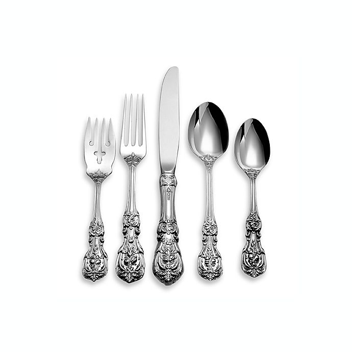 Alternate image 1 for Reed & Barton® Francis I 5-Piece Flatware Place Setting in Sterling Silver