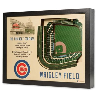 Mlb Chicago Cubs Stadium Views Wall Art Bed Bath Amp Beyond