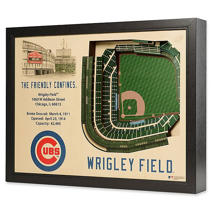 ded14e24 MLB Chicago Cubs Stadium Views Wall Art | Bed Bath & Beyond