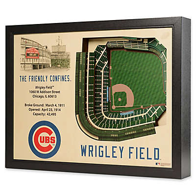 MLB Chicago Cubs Stadium Views Wall Art