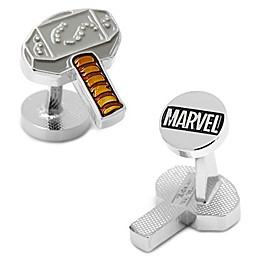 Marvel® Silver-Plated Thor's Hammer Cufflinks