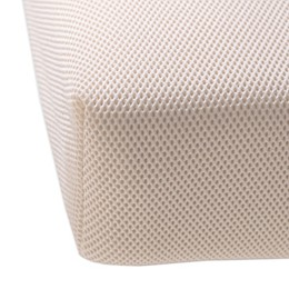 Naturepedic Organic Breathable Crib Mattress Pad in Natural