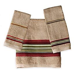 Madison Stripe Fingertip Towel
