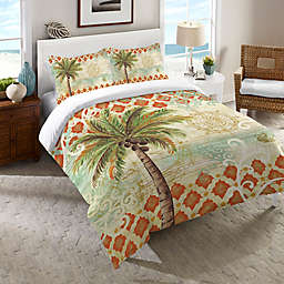Laural Home® Spice Palm Comforter in Orange