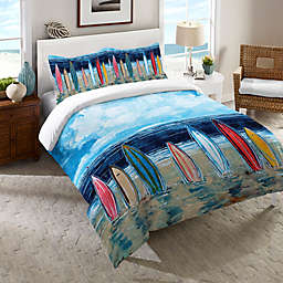 Laural Home® Surfboards Comforter in Blue