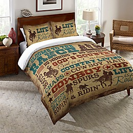 Laural Home® Welcome to the Ranch Bedding Collection