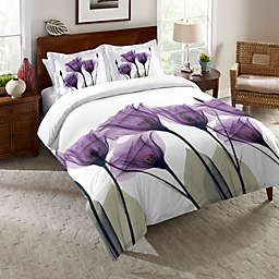 Laural Home® Lavender Hope Comforter in Purple