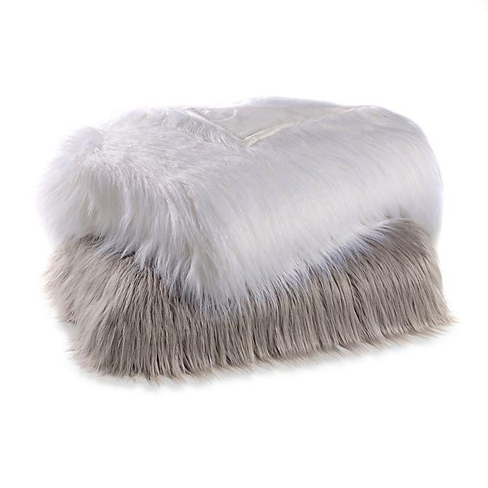 Alternate image 1 for Flokati Faux Fur Throw Blanket