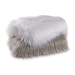 Flokati Faux Fur Throw Blanket