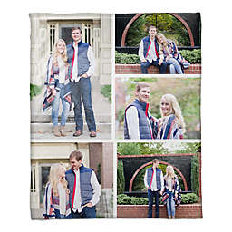 Photo Collage Throw Blanket