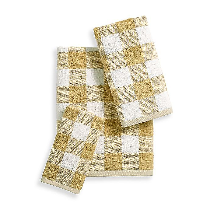 Alternate image 1 for Bee & Willow™ Home Gingham Dobby Towel Collection