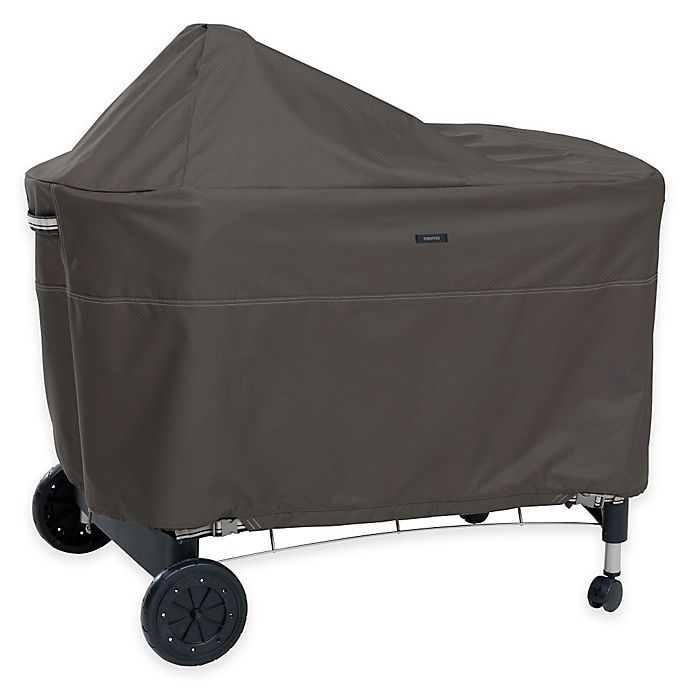 Alternate image 1 for Classic Accessories® Ravenna Weber Performer Outdoor Grill Cover in Taupe