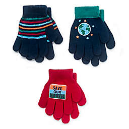 Berkshire 3-Pack Save the Planet Gloves in Red