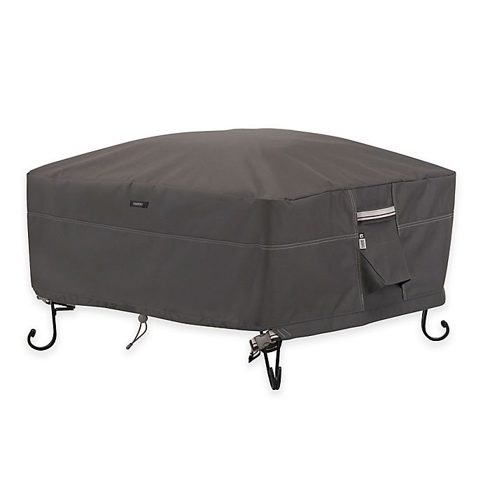 Alternate image 1 for Classic Accessories® Ravenna Square Outdoor Firepit Cover