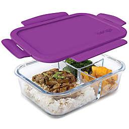 bentgo® Glass 41 oz. Portable Lunch Box in Purple