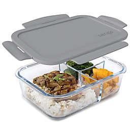 bentgo® Glass 41 oz. Portable Lunch Box in Grey