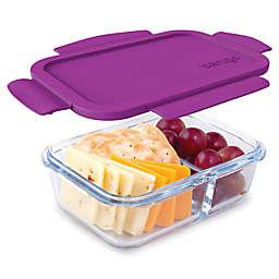 bentgo® Glass 14.2 oz. Portable Snack Box in Purple