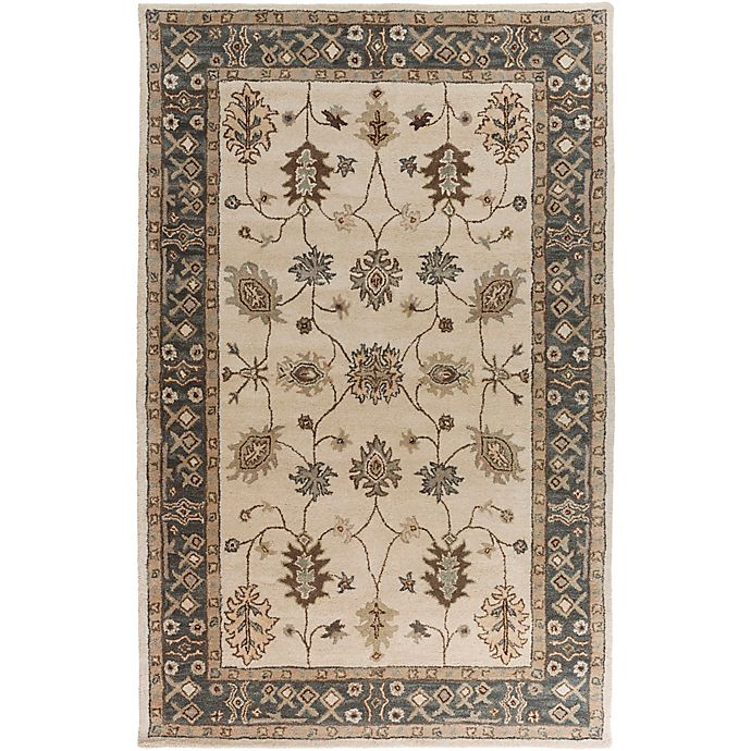Alternate image 1 for Artistic Weavers Middleton Willow 6-Foot x 9-Foot Area Rug in Grey/Ivory