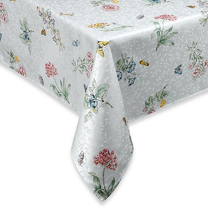 Alternate image 1 for Lenox® Butterfly Meadow® 70-Inch Round Tablecloth