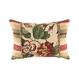 Waverly® Laurel Springs Oblong Throw Pillow in Parchment