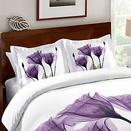 Laural Home® Lavender Hope Standard Pillow Sham in Purple