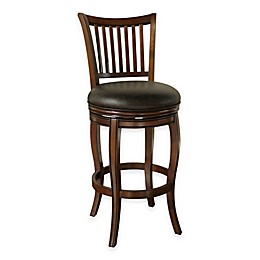 American Heritage Maxwell Swivel Stool in Brown