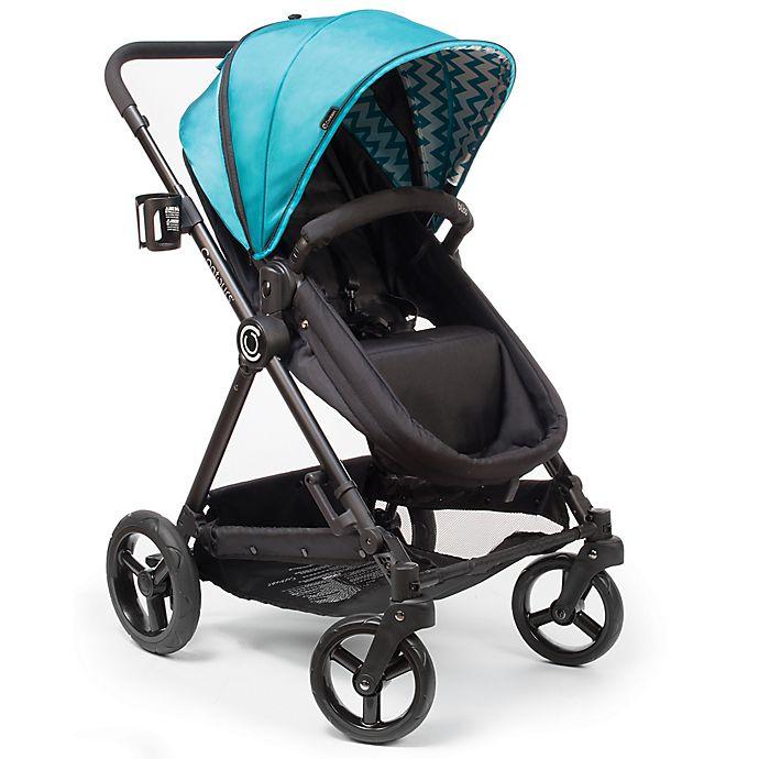 Alternate image 1 for Contours® Bliss 4-in-1 Stroller in Laguna Blue