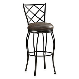 American Heritage Ava Swivel Stool in Cocoa