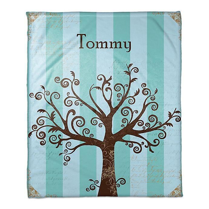 Alternate image 1 for Tree Silhouette Throw Blanket