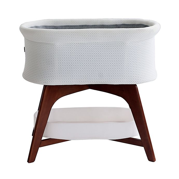Alternate image 1 for Evi Smart Bassinet with Smart Technology in Cream