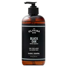Olivina® 16 oz. Men All-in-One Body Wash in Black Oak