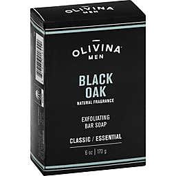 Olivina® 6 oz. Men Exfoliating Bar Soap in Black Oak