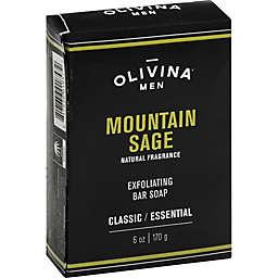 Olivina® 6 oz. Men Exfoliating Bar Soap in Mountain Sage