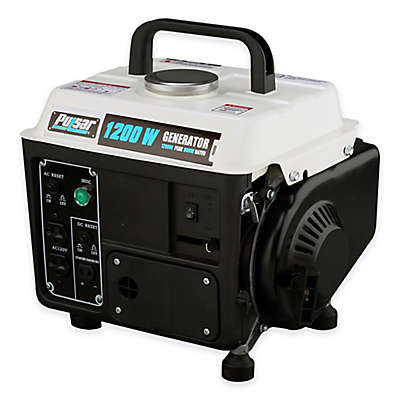 Pulsar 1200 Peak Watt Portable Two-Cycle Gasoline Generator