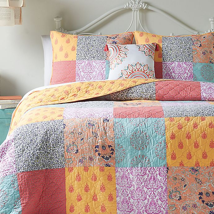 Buy Jessica Simpson Sonya Reversible King Quilt From Bed