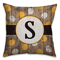 Polka Dot 16-Inch Square Throw Pillow
